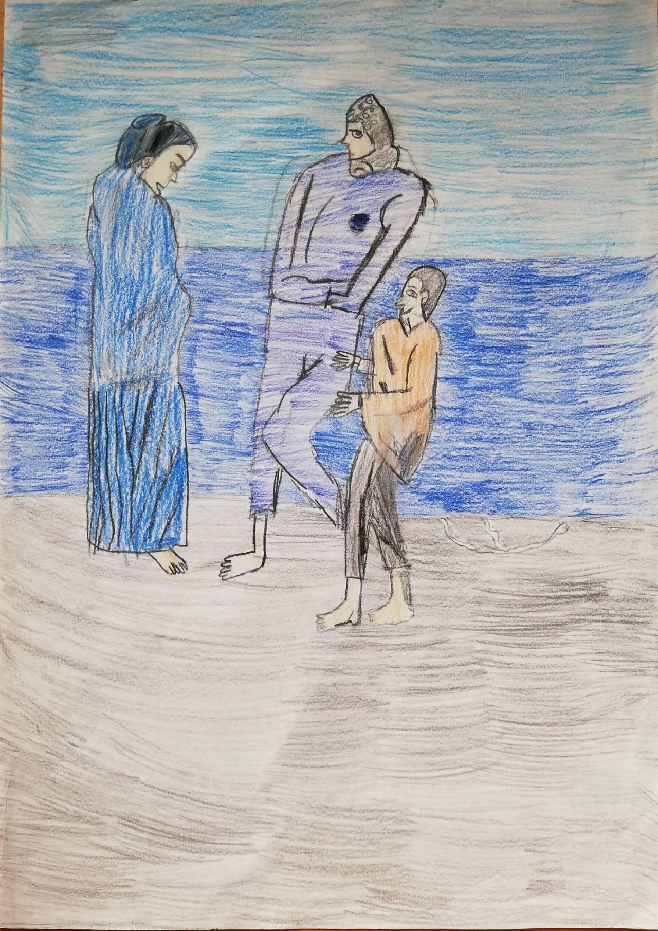 Los Pobres A Orillas Del Mar De Candela Rienda Rosaleny